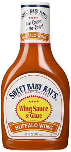 Sweet Baby Ray's Buffalo Wing Marinade And Sauce, 16 fl oz