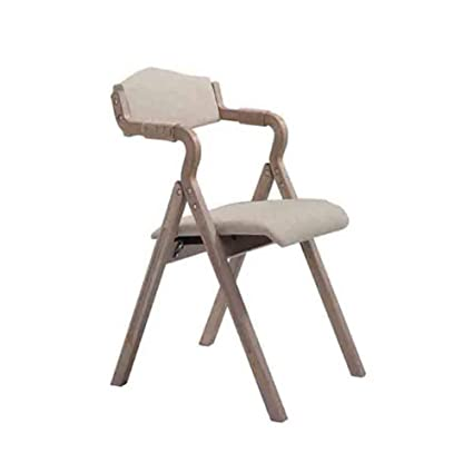 WGXX Silla Plegable Silla De Madera Plegable De Diseño Retro ...