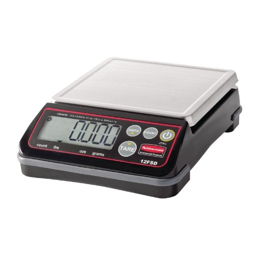 Rubbermaid Commercial Products 1814570 6kg High Performance Digital Scale