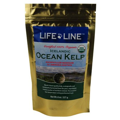 Life Line Organic Ocean Kelp Dog and Cat Supplement