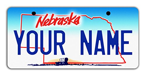 BleuReign Personalize Your Own Nebraska State Bicycle Bike Stroller Children's Toy Car 3