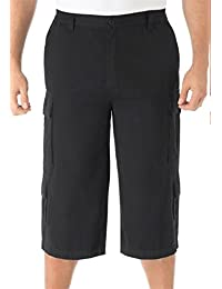 "<span class=""a-offscreen"">[Sponsored]</span>Blues Men's Big & Tall 17"" Cargo Shorts, Black Big-46"