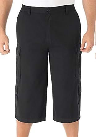 "Amazon.com: Kingsize Men's Big & Tall 17"" Cargo Shorts"