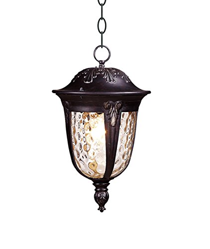 WENTAI Exterior Outdoor Lantern Light with Water Glass, Pendant Light outdoor pendant light/lanterns DH-4032S by WENTAI