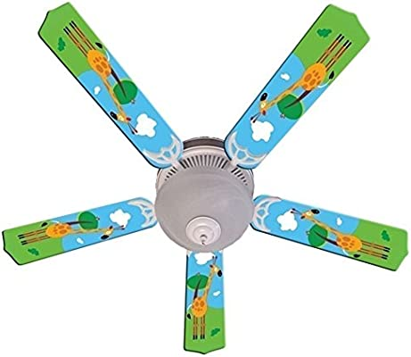 Giraffe designer 52in ceiling fan blades set multi replacement fan giraffe designer 52in ceiling fan blades set multi replacement fan set kids harbor breeze universal ceiling blade colors primary svitlife aloadofball Image collections