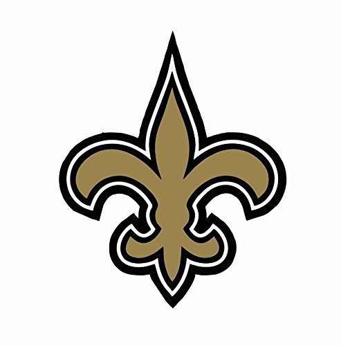 Saints Cell (Crazy Discount Vinyl Sticker Decal New Orleans Saints NFL for Windows Car Cell Phone Bumpers Laptop Wal, 3