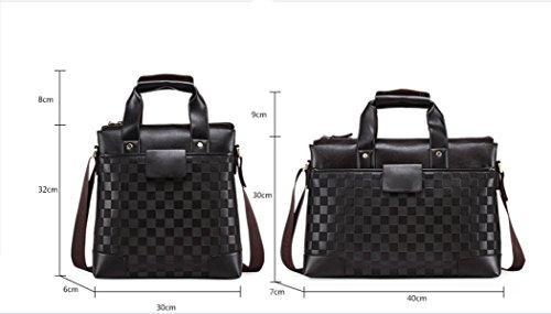 purpose Messenger Travel Business Men's Multi Bag Black Shoulder Leisure Backpack Laidaye fCAxSw