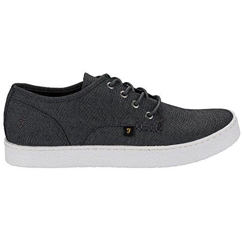 Farah , Chaussures de ville à lacets pour homme - Noir - noir, 40