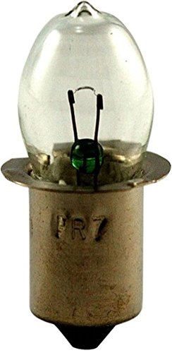 EiKo PR13 Miniature Automotive Light Bulb, EiKo Number 40086, 4.75V 0.5A, SC Miniature Flanged Base, B-3 1/2 Bulb, C-2R Filament, MOL 1.25