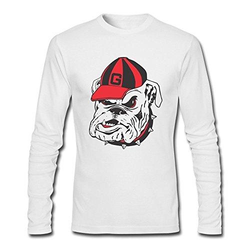 Men Georgia Bulldogs Logo Brand Long Sleeve Tshirt (Georgia Bulldogs Recliner compare prices)