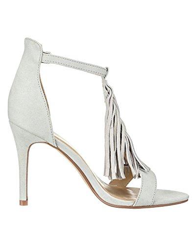Sandal Mujer Moda Vero de beis Sandalias Vmelisabeth tobillo qxESRwUZz