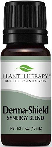 Derma Shield (Plant Therapy Derma-Shield Synergy Essential Oil 10 mL (1/3 oz) 100% Pure, Undiluted, Therapeutic Grade)