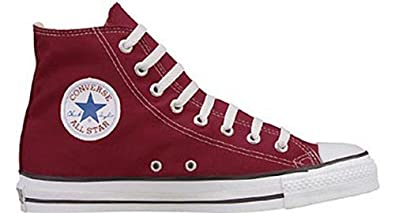 e6891336db3 Image Unavailable. Image not available for. Colour  Converse All Star High  Top Canvas Pumps Trainers Mens Womens Size 10 UK Maroon