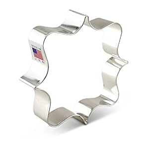 Ann Clark Square Plaque Cookie Cutter - 4 Inches - Tin Plated Steel