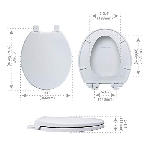 Round Toilet Seats With Lid Slow Close Seat And Cover