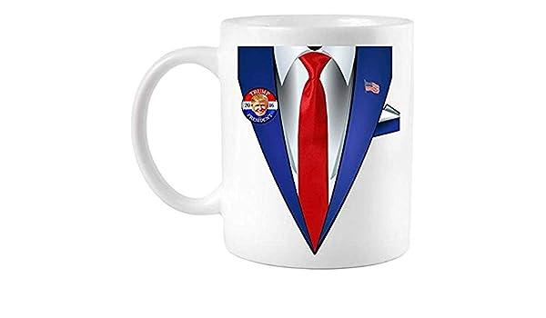 Vasos De Café,Donald Trump Traje Y Corbata Para Presidente Disfraz ...