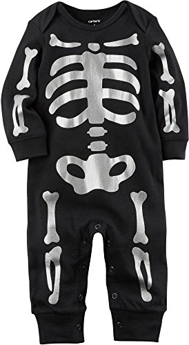 Carter's Baby Skeleton Jumpsuit 9 Months
