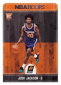 Official Nba Basketball Card (2017-18 Panini NBA Hoops Basketball #254 Josh Jackson Rookie Card - Phoenix Suns)