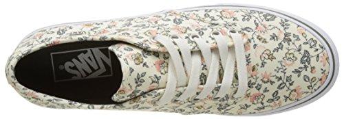 Furgoni Signore Wm Camden Stripe Sneaker Avorio (vintage Floreale)
