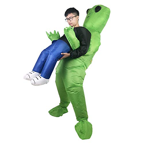 Alien Inflatable Costume Fancy Dress Costume Adult Halloween Carnival Christmas Party -