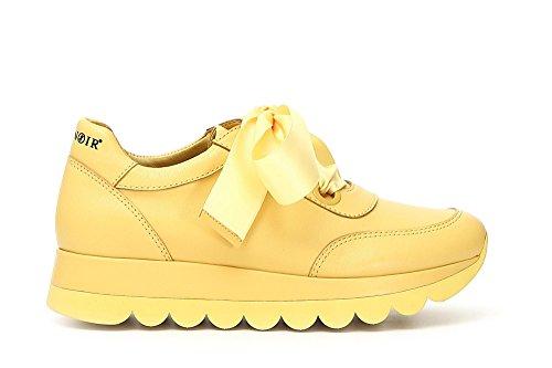 Alto Giallo Kdb235 1958 Donna Cafènoir Collo A Sneaker E18 qzwq6Ic8