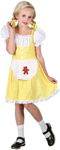 Goldilocks Girls Fancy Dress Up And Play Costume L (disfraz ...
