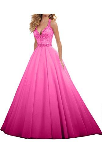 rosa Vestido para 60 trapecio Topkleider mujer qRFxC8ww