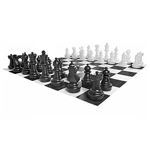 Kettler Junior Giant Chess Complete Set with 4 x 4 Feet L...