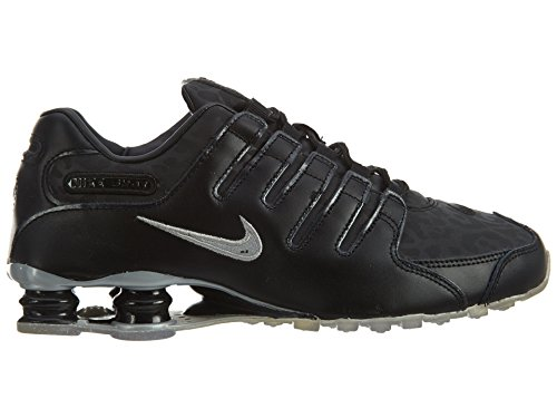 Nike Shox Nz Pa Mens Black/Metallic Silver-metallic Silver clearance store cheap price f2EoV