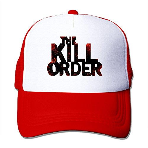 [ACMIRAN Order To Kill Personalize Baseball Cap One Size Red] (Kid Sized Assassins Creed Costume)