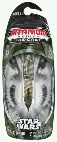 B000P5OY2A Star Wars Titanium Vehicle 3 Invisible Hand (japan import) 413JikaMZJL