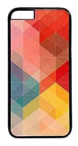 "ICORER iPhone 6 Plus Case 5.5"" Complex Pattern Designer PC Hard Plastics Case for Apple iPhone 6 Plus with 5.5inch Screen - Black"