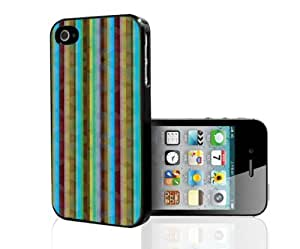 Colorful Blue and Burgundy Stripes Hard Snap on Phone Case (iPhone 6 4.7)