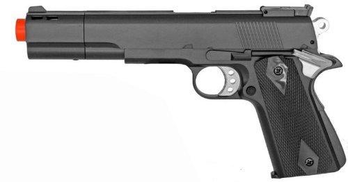 hfc hg-124 gold cup m1911 green gas airsoft handgun pistol 245 fps(Airsoft Gun) (Hfc Green)