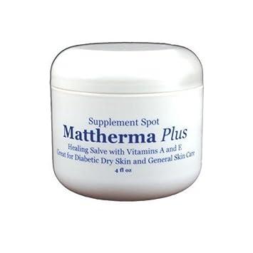 supplementspot mattherma Plus curación Salve con vitaminas a y e, ideal para piel seca y General para el cuidado de la piel: Amazon.es: Salud y cuidado ...