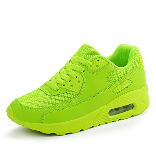 Wedge Walking 3D Orthopedics Platform with Shoes Fitness Womens Glitters Lanchengjieneng Green Sneakers Neon Ladies c01HqFaxwf