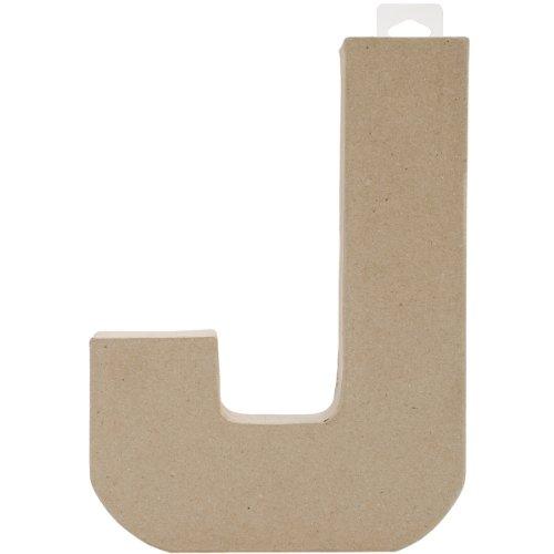 Darice PaperMache Letter 8quotX55quot J