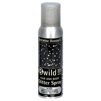 Jerome Russell B-Wild Glitter Spray Silver