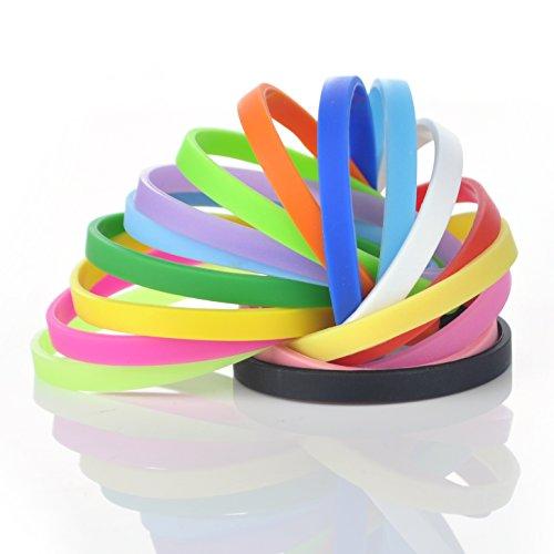 GOGO Silicone Wristbands Fitness Bracelets product image