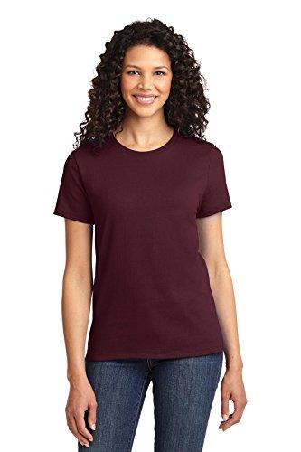 Autoridad Portuaria de puerto de la mujer & Company lpc61esencial camiseta Ath Maroon