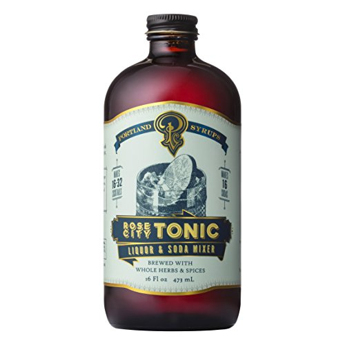 Portland Syrups Rose City Tonic Concentrate (16 ounces)