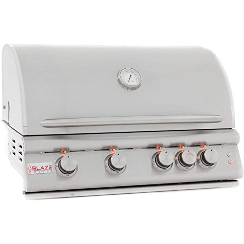 Blaze 32-inch Grill with Lights (BLZ-4LTE-NG), Built-In, Natural Gas