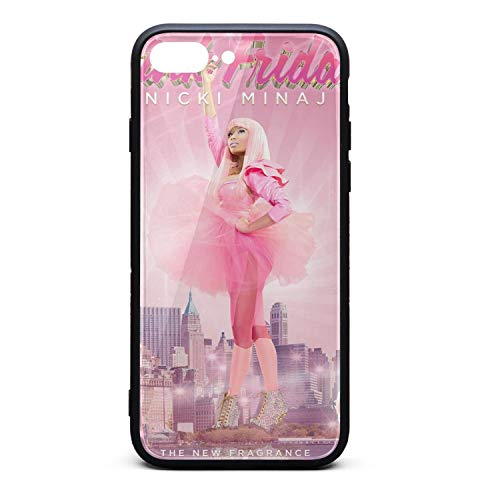 iPhone 7/8Plus Case Nicki-Minaj-Pink-Friday-Perfume- Ultra-Thin Back Case Flexible TPU Bumper Cover Phone Case for iPhone 7/8Plus Case[5.5 Inch] -