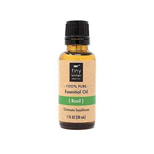 Pure Basil Essential Oil - Ocimum basilicum (30 mL / 1 fl oz)