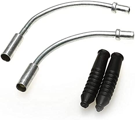 10 Pack//Set V Brake Noodles Cable Guide Pipe Plastic Boots Bike Folding Boots