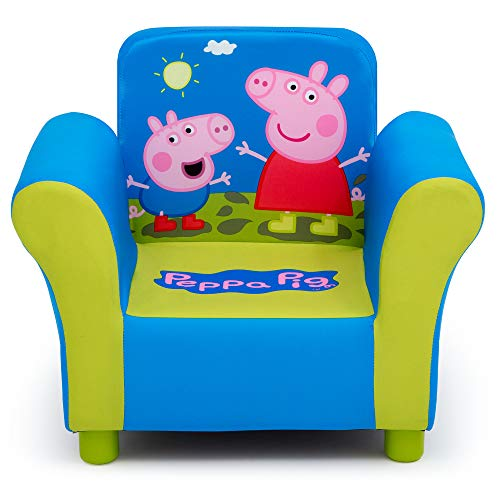 Delta Children Upholstered Chair, Peppa Pig -