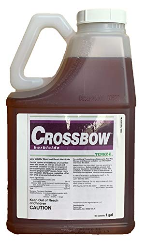 Crossbow Herbicide Dow Specialty Herbicide 1 gallon 55555282 (Best Brush Killer Herbicide)