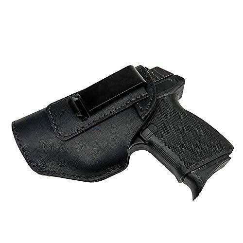 Yeeper IWB Holster | Inside The Waistband Concealed Carry Gun Holster for S&W M&P Shield - Glock 19 19X 23 26-38 39 43 43X | H&K P30 VP9 VP40 VP9SK P30SK /All Similar Handguns