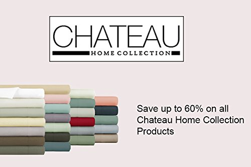 Chateau Home Collection 800-Thread-Count Egyptian Cotton Deep Pocket Sateen Weave Sheet Set (QUEEN, Burgundy)