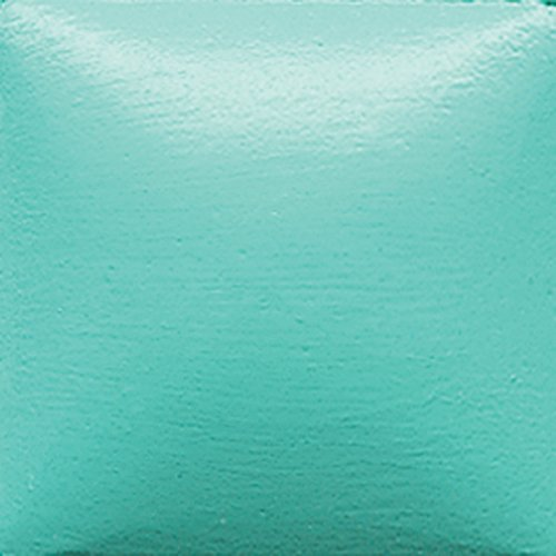 Duncan Bisq-Stain Opaque Acrylics - OS 469 - Light Turquoise - 2 Ounce (Bisq Bisque)